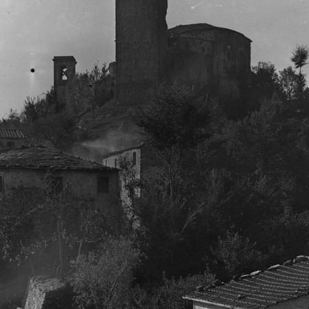 Castello e paese di Castiglione del Terziere 1919