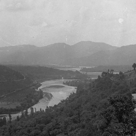 Panorama con il Castello di Lusuolo 1919