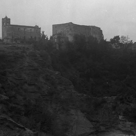 Castello e Borgo di Castiglione del Terziere 1920
