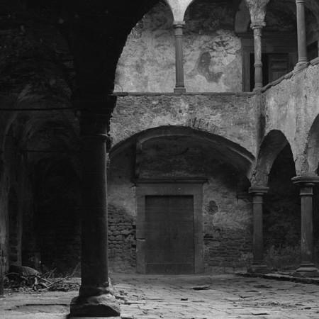 Interno del Castello di Olivola 1906