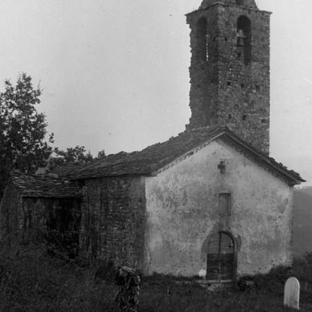 Chiesa di Gragnana 1900