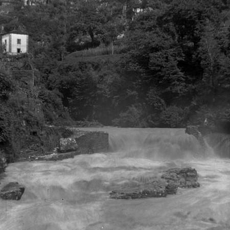 Piena del Fiume Bagnone 1901