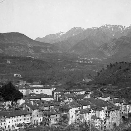 Panorama di Bagnone 1902