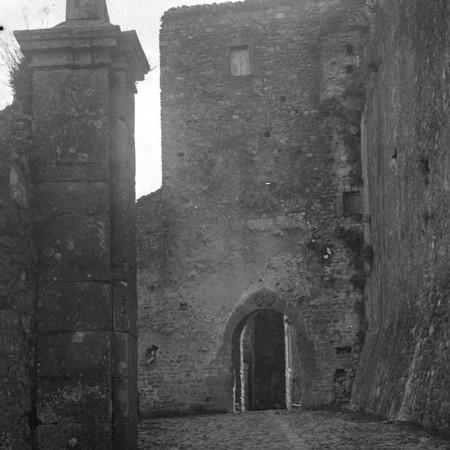 Ingresso paese di Malgrate 1913