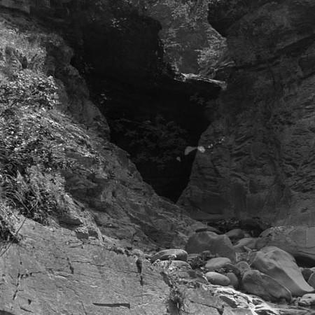 Stretto nel canale di Compione 1919