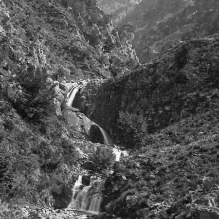 Parte superiore della cascata dell'Acquetta 1919
