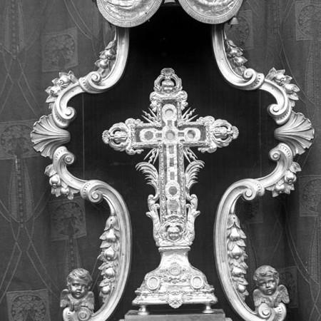 Reliquiario della Santa Croce con teca 1913