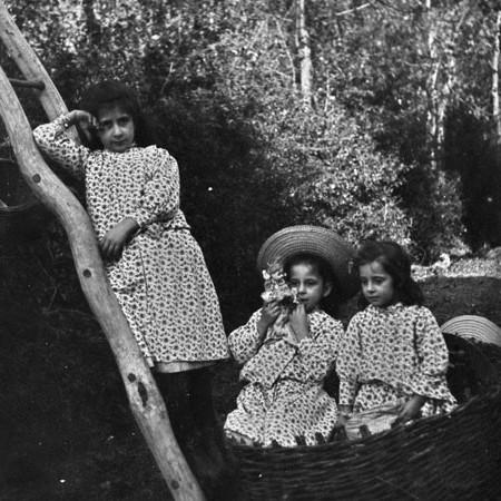 Bambine Bellegotti a Casa degli Orti 1903