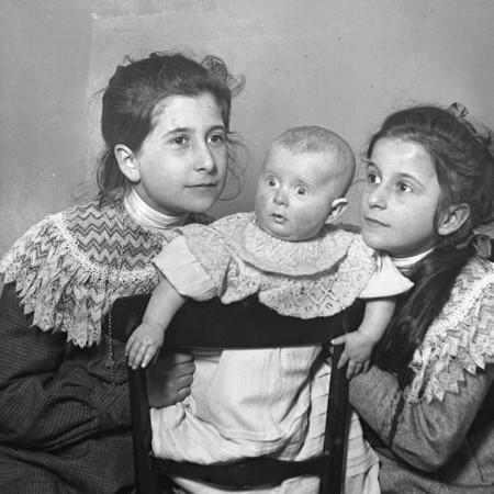 Enrichetta, Antonietta e Luisina Bellegotti