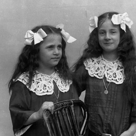Luisina e Lina Bellegotti 1912