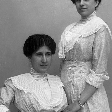 Enrica e Antonietta Bellegotti 1912