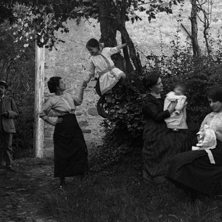 Famiglia Bellegotti a Casa degli Orti 1913