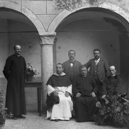 Gruppo con Padre Torcelli 1901