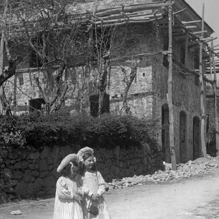 Casa del Pubblico Soccorso di Bagnone, in costruzione 1912