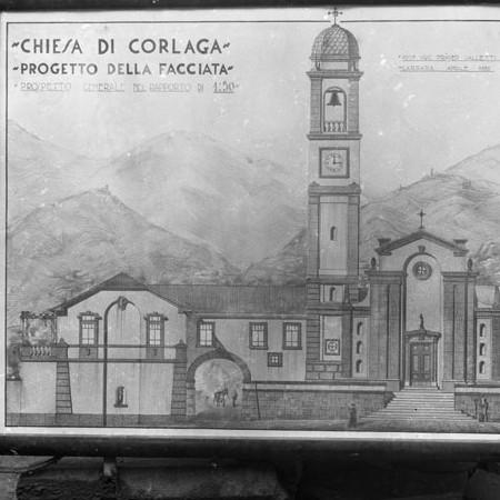 Progetto Chiesa di Corlaga 1932