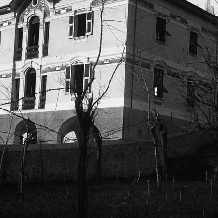 Facciata sud della Casa degli Orti