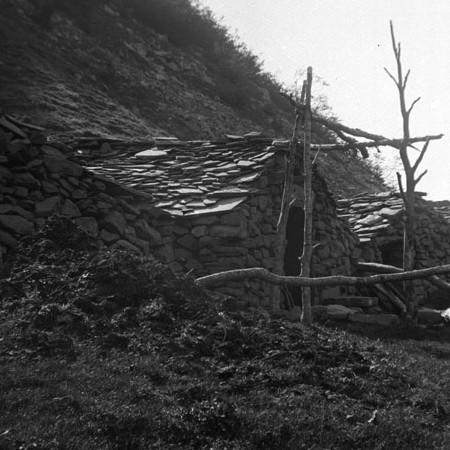Capanne dei Tornini, edifici usati per l'alpeggio