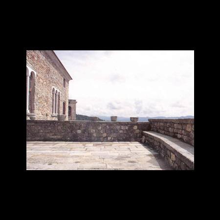 Castello, loggia di ponente